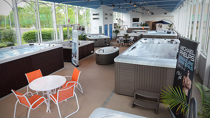 showroom spas
